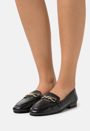 LEXINGTON LOAFER - Slip-ons - black