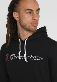 Champion - HOODED  - Hoodie - black - 3
