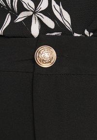 Zizzi - JMALIAH CROP PANT - Bukse - black - 5
