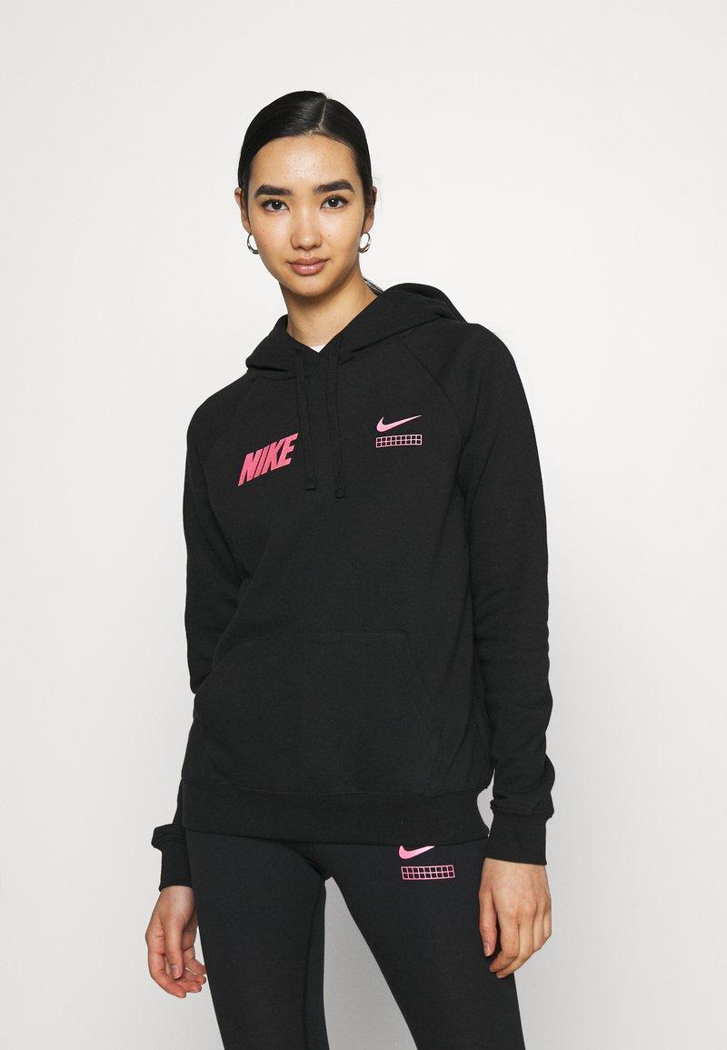 Nike Sportswear - Topper langermet - black/hyper pink