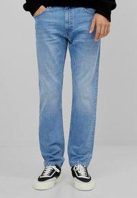 Bershka - Jeans slim fit - blue denim - 0