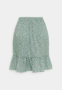 ONLY - ONLOLIVIA WRAP SKIRT - Zavinovací sukně - chinois green - 1