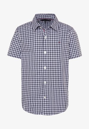 SLUB GINGHAM - Shirt - blue