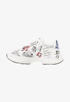 INSERT RUNNER-DOODLE - Trainers - white/multicolor