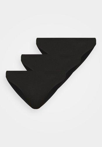 ELISA BRIEFS 3 PACK - Briefs - black