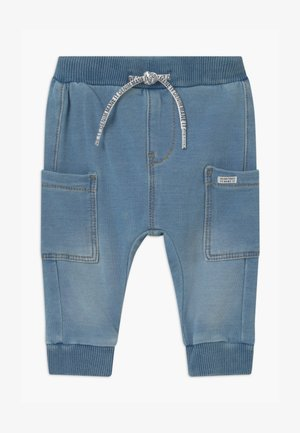 NBMROMEO - Stoffhose - medium blue denim
