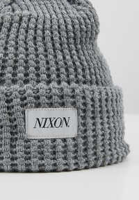 Nixon - WINTOUR BEANIE - Čepice - heather gray - 5