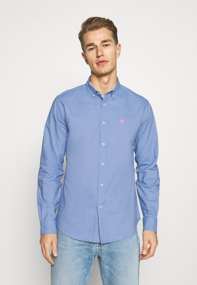 SOLID OXFORD ORGANIC - Shirt - turquoise/teal
