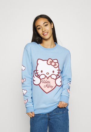 HELLO HEART - Sweatshirt - blue