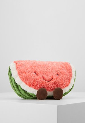 AMUSEABLE WATERMELON - Cuddly toy - green