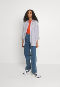 BDG Urban Outfitters - TULLY OVERSIZED STRIPED  - Button-down blouse - grey - 1