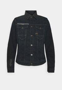 G-Star - SLIM ARROW PRINT - Denim jacket - dark ink blue - 0