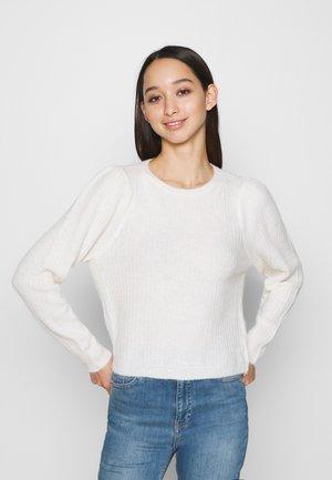 ONLTOKYO PLEATS - Jumper - whitecap gray