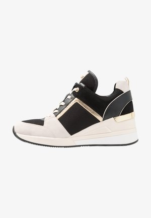 GEORGIE TRAINER - Sneakers basse - light cream/multicolor