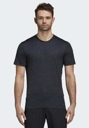 TERREX AEROREADY OUTDOOR SHORT SLEEVE TEE - T-shirt sportiva - grey