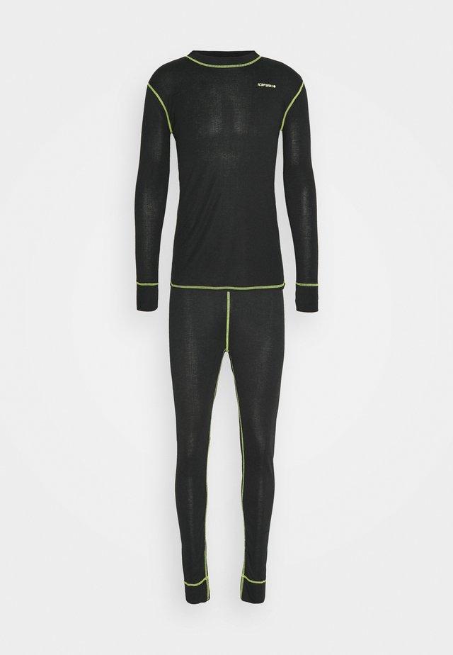 ISERLOHN SET - Undershirt - black