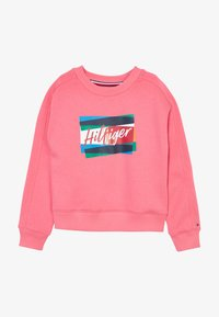 Tommy Hilfiger - FUN FLAG CREW  - Sweatshirt - pink - 3
