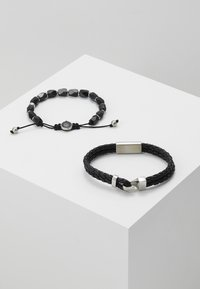 Diesel - STACKABLES SET - Bracelet - black - 3