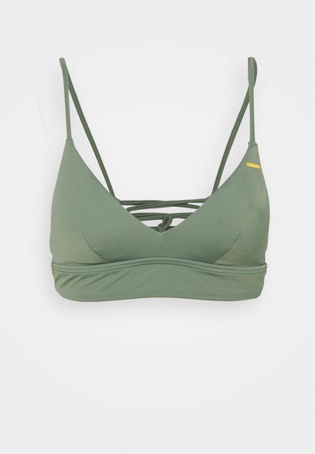 WAVE - Bikinitoppe - green