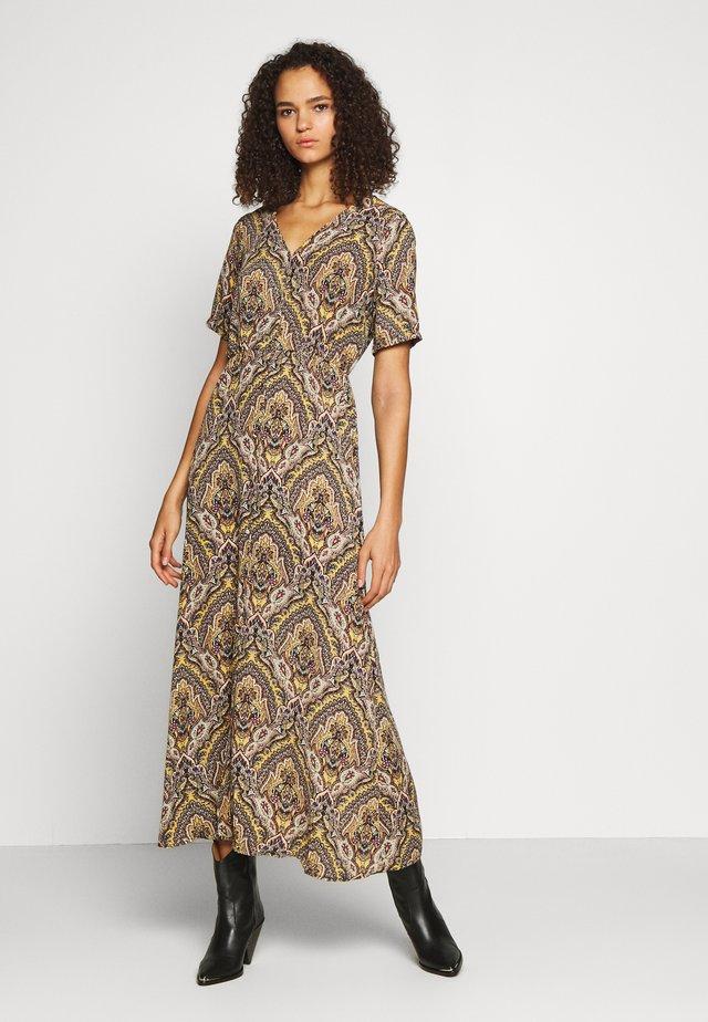 ONLHANNA ANCLE DRESS - Długa sukienka - golden spice