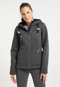 ICEBOUND - Fleece jacket - dunkelgrau melange - 0