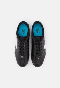Umbro - VELOCITA VI CLUB TF - Astro turf trainers - black/white/cyan blue - 3