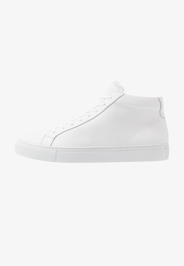 TYPE MID SOLE - High-top trainers - white