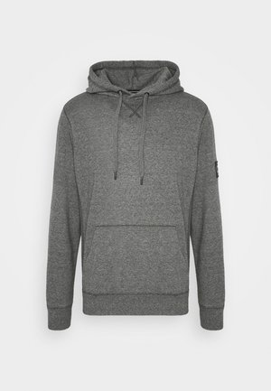 MONOGRAM BADGE GRINDLE HOODIE - Hættetrøjer - black