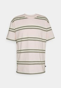Nike SB - TEE STRIPE UNISEX - Print T-shirt - orange pearl - 0