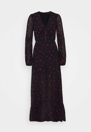 DASHAMIRA DRESS - Maxikjole - black/pink