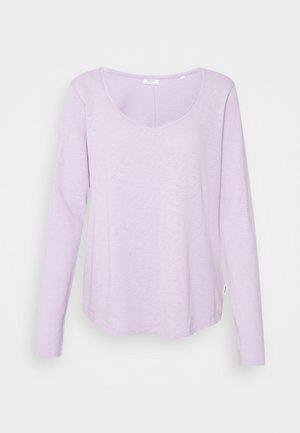 REGULAR  - Long sleeved top - pastel lilac