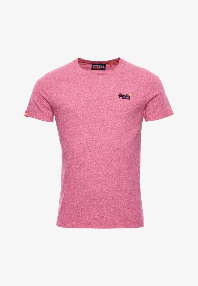 T-shirt basique - pink grit