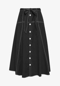 SKIRT - A-line skirt - polo black