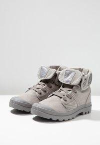 Palladium - VEGAN PALLABROUSSE BAGGY - Lace-up ankle boots - titanium/high rise - 2