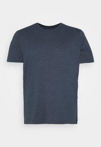 Pier One - Basic T-shirt - mottled dark blue - 1