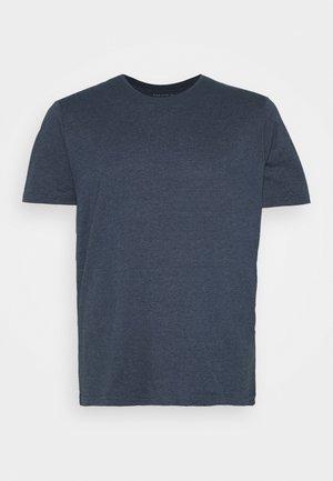 T-shirt basic - mottled dark blue