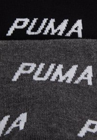 Puma - UNISEX QUARTER 2 PACK - Calcetines de deporte - black/white - 1