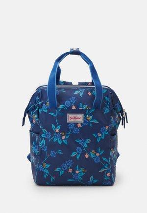 DOUBLE ZIP BACKPACK NAPPY BAG SET - Ryggsäck - midnight blue