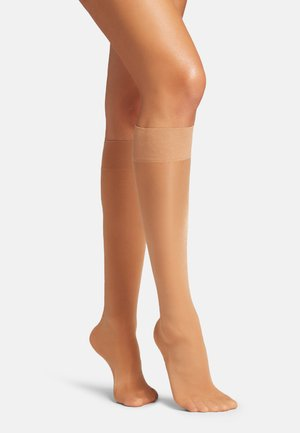 SATIN TOUCH - Knee high socks - gobi