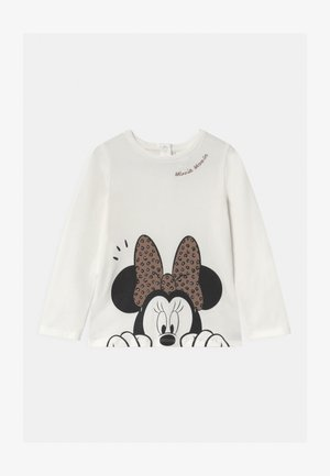 MINNIE - Long sleeved top - bright white