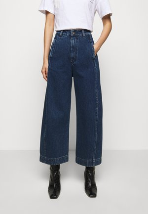 SPONGE PANTS - Relaxed fit jeans - blue denim