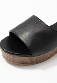 Rubi Shoes by Cotton On - PHOEBE FLATFORM - Heeled mules - black - 2