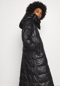 G-Star - EXTRA LONG HOODED PADDED PUFFER  - Winter coat - dk black - 4