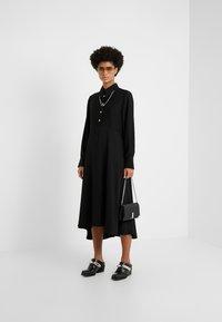 Rika - ROSA DRESS - Vestido camisero - black - 1