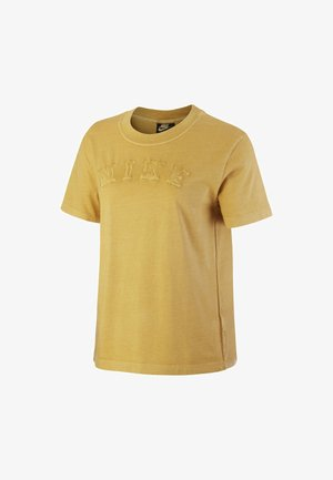 Basic T-shirt - infinite gold/infinite gold