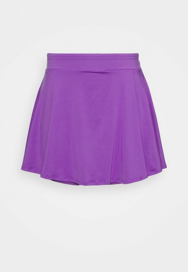 Sports skirt - wild berry/white