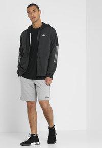 adidas Performance - Sports shorts - medium grey heather - 1