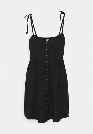 CORSET DRESS - Day dress - true black