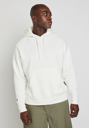 SHAPES TRIANGLE HOODIE UNISEX - Jersey con capucha - egret