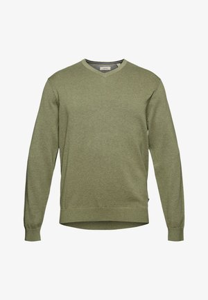 Strickpullover - light khaki